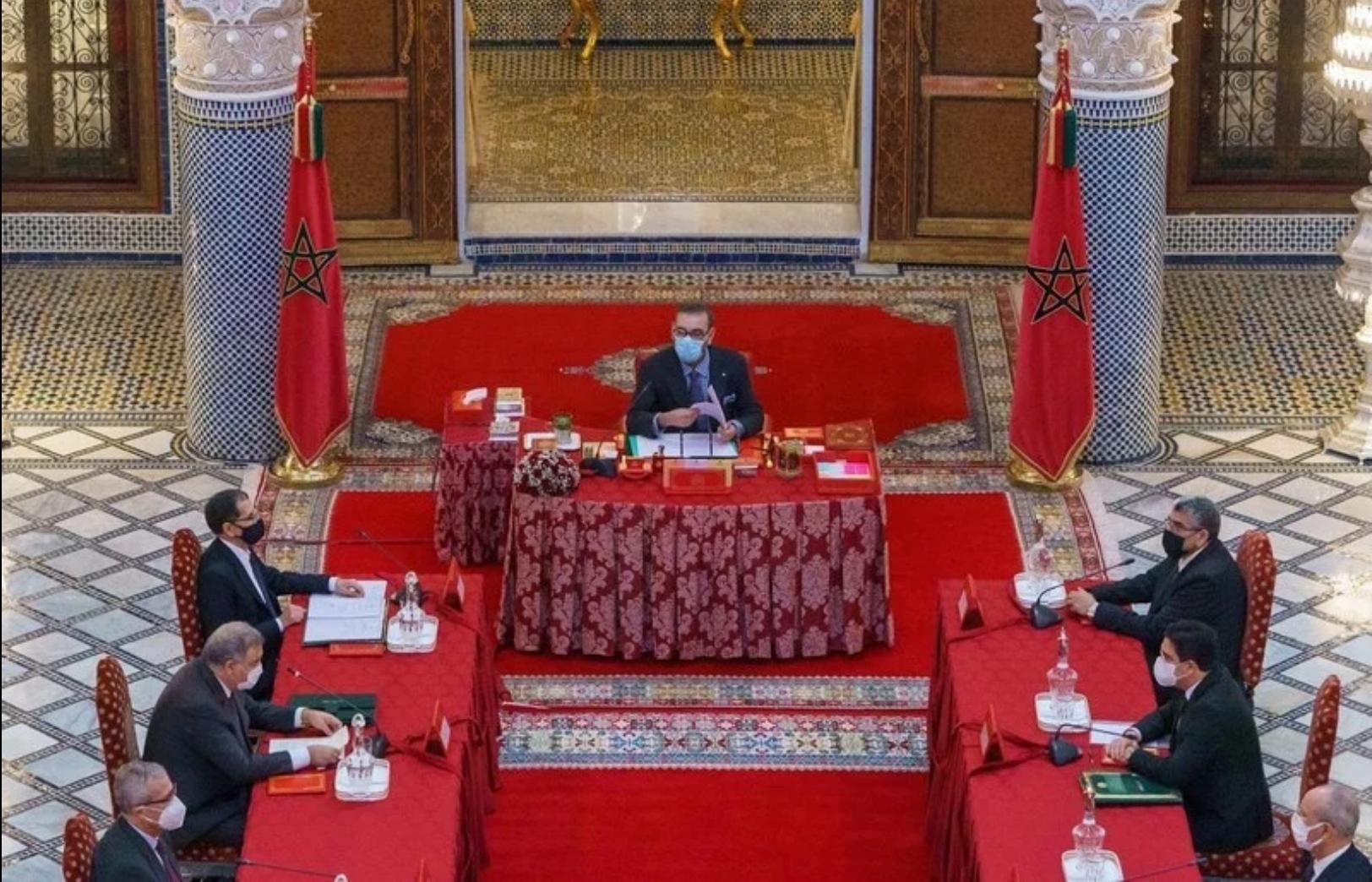 جلالة الملك يترأس مجلسا وزاريا خصص للمصادقة على عدد من مشاريع النصوص القانونية ومجموعة من الاتفاقيات الدولية