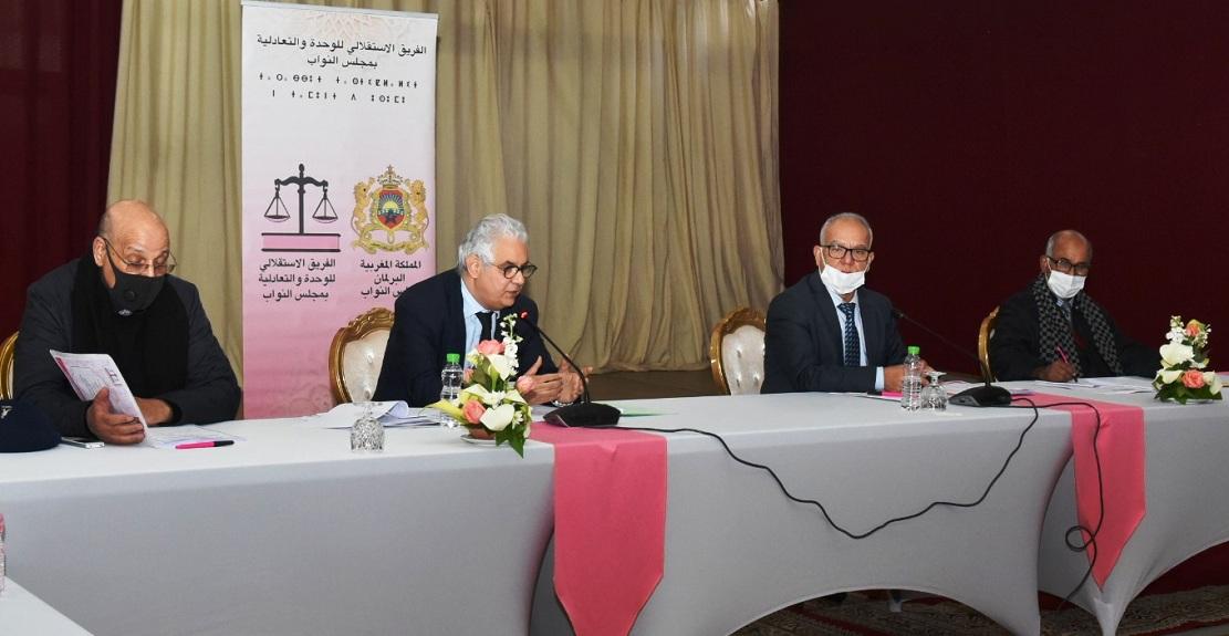 الأخ نور الدين مضيان: جودة القوانين الانتخابية دعامة أساسية لضمان نجاح الاستحقاقات المقبلة وتعزيز البناء الديمقراطي