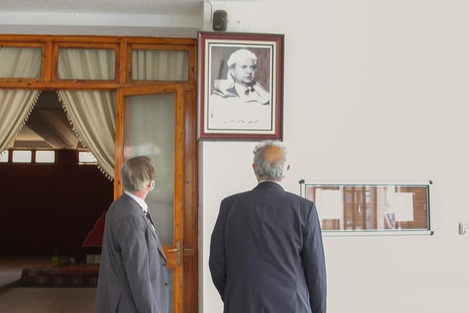 الأخ نزار بركة يستقبل السيد مايكل كاتس سفير أستراليا لدى المغرب