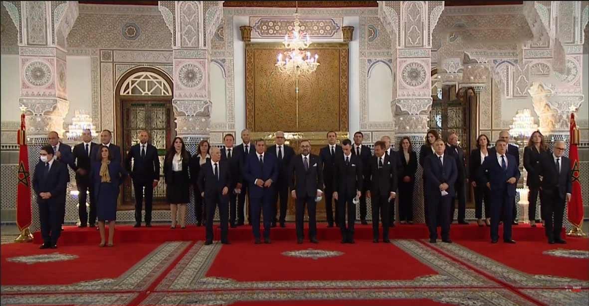 جلالة الملك محمد السادس يستقبل ويعيّن أعضاء الحكومة المغربية الجديدة الثالثة بعد دستور 2011