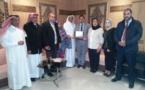 الأخ عمر عباسي يستقبل وفدا قياديا عن جمعية البحرين للعمل التطوعي