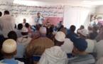 الأخ عبداللطيف أبدوح  يترأس المؤتمر التأسيسي للفرع المحلي للاتحاد العام للفلاحين بتساوت السفلى