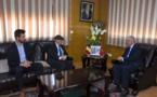 الأخ نزار بركة يستقبل السيد مارك ترينتسو سفير مملكة بلجيكا المعتمد بالمغرب