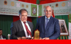 """تكريم الأخ مولاي حمدي ولد الرشيد في  """"ملتقى العدالة الثاني لمدينة العيون"""""""