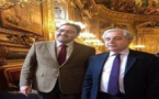 الخليفة الأول لرئيس مجلس المستشارين  يتسلم بالعاصمة باريس الميدالية الذهبية لمجلس الشيوخ الفرنسي