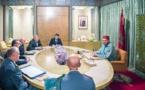 الملك محمد السادس يترأس جلسة عمل خصصت لتتبع تدبير انتشار وباء فيروس كورونا ببلادنا
