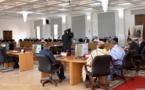 والي جهة الداخلة وادي الذهب ورئيس المجلس الجهوي في لقاء مع الجمعية المغربية للمصدرين: