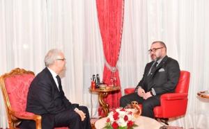 جلالة الملك محمد السادس يستقبل الأخ نزار بركة الأمين العام لحزب الاستقلال