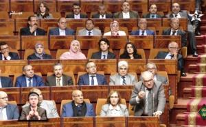 الدكتور نورالدين مضيان رئيس الفريق الاستقلالي للوحدة والتعادلية بمجلس النواب في نقطة نظام بمناسبة مناقشة السياسة العمومية للحكومة يوم الالثلاثاء 28 نونبر 2017 .