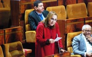 النائبة سعيدة ايت بوعلي : الدولة مطالبة بسياسة مندمجة لموجهة انتشار ظواهر التعصب والعنف داخل المجتمع