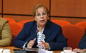 الأخت عبلة بوزكري حول تفعيل الخدمة القضائية الالكترونية