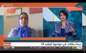 """خديجة الزومي في برنامج """"بصراحة"""" على قناة Medi1TV تبرز التحديات التي تواجه المرأة المغربية بدءا من الحضور الإعلامي مرورا بالتمكين السياسي والإداري والاقتصادي"""