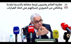 مغاربة العالم يعتبرون قيمة مضافة بالنسبة لبلادنا وبالتالي من الضروري إشراكهم في اتخاذ القرارات