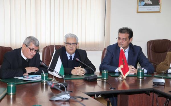 الوزير الفلسطيني للأسرى والمحررين يحل ضيفا على حزب الاستقلال