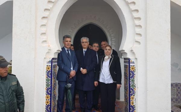 وفد استقلالي برئاسة الأستاذ نزار بركة يترحم على الروح الطاهرة لزعيم الوحدة