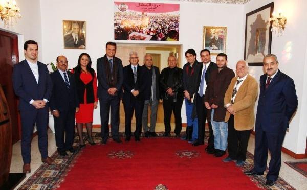 الأخ نزار بركة يترأس الاجتماع الأولللجنة العلاقات الخارجية لحزب الإستقلال