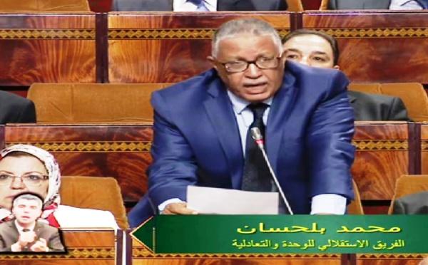 الأخ محمد بلحسان : الجفاف أصبح ظاهرة مقلقة تهدد الاقتصاد ومستقبل البلاد