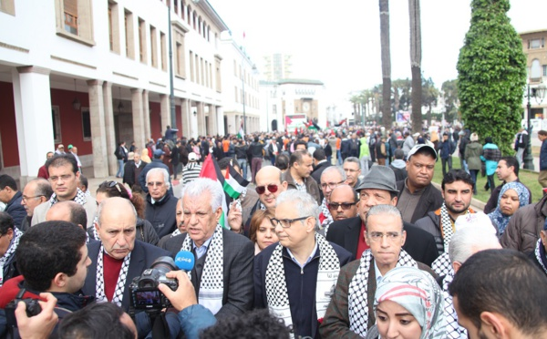 السفير الفلسطيني بالرباط : نحيي الشعب المغربي الذي ظل دائما مناصرا لقضية الشعب الفلسطيني