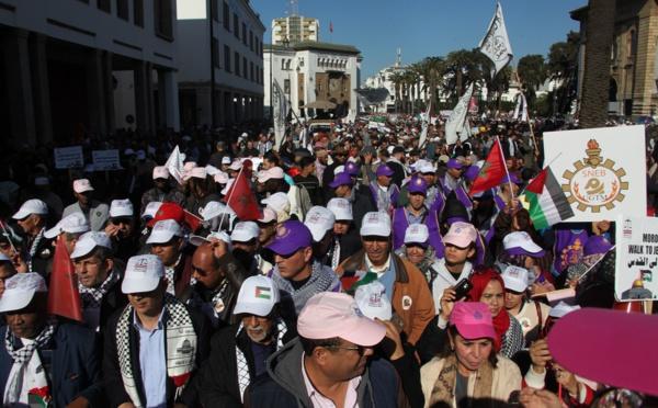 عبدالجبار الراشدي : مسيرة الرباط تجسد رفض المغاربة المطلق للقرار الأمريكي الجائر