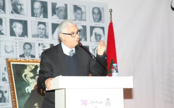 الأخ نزار بركة : 11 يناير محطة مضيئة لربط الماضي بالحاضر