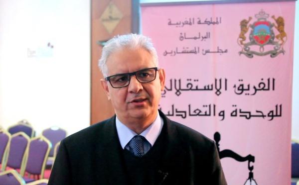الأستاذ نزار بركة :  ضرورة وضع المخطط الوطني للماء وتنزيله على أرض الواقع لتلبية حاجات المواطنين