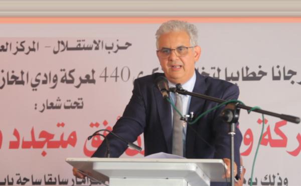 نزار بركة : خطاب العرش انتصار للأحزاب الجادة ودعوة للحكومة إلى القطع مع هدر زمن الإصلاح