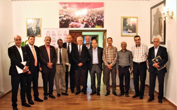 الأمين العام لحزب الاستقلال يترأس اجتماعا لرؤساء وممثلي الروابط المهنية