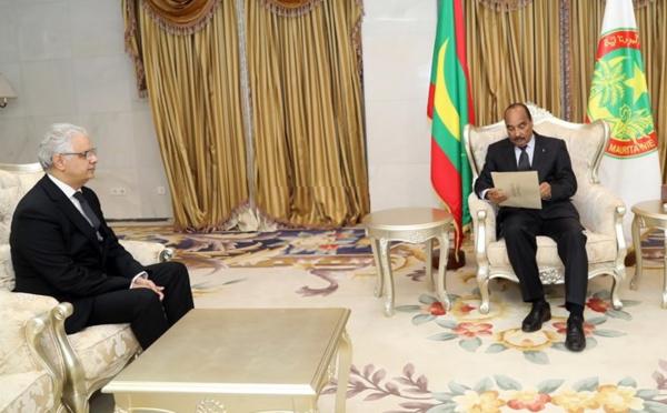 روبورتاج القناة الأولى والقناة الموريتانية حول استقبال الرئيس الموريتاني للأخ نزار بركة مبعوثا خاصا لجلالة الملك