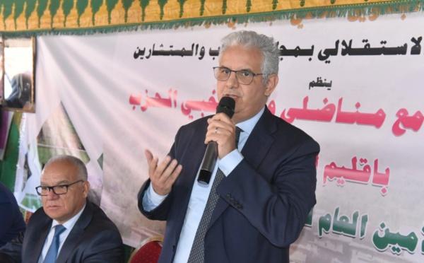 نزار بركة : حان الوقت من أجل أن يأخذ إقليم أزيلال حقه ونصيبه من التنمية والثروة الوطنية