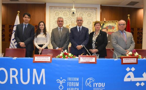 إعلان الرباط - الاتحاد الدولي للشباب الديمقراطي