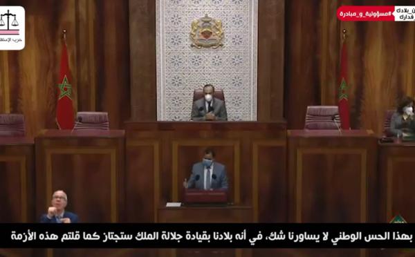 أهم ما جاء في عرض الأخ عمر عباسي بإسم الفريق الاستقلالي بمجلس النواب خلال الجلسة الشهرية لمسألة رئيس الحكومة