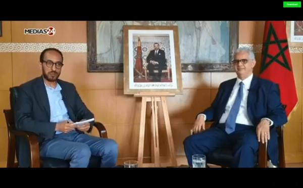 الأخ نزار بركة في حوار صحافي مع Médias24