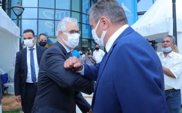 الأخ نزار بركة يلتقي بالسيد رئيس الحكومة المعين.. ويتلقى عرضا للمشاركة في الحكومة