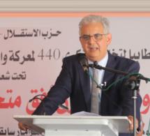 الأخ نزار بركة: حزب الاستقلال يجدد اعتزازه بالاصلاحات الكبرى التي عرفها المغرب في العهد الجديد