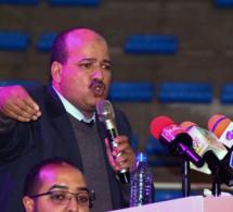 الأخ النعم ميارة يترأس لقاء تواصليا حاشدا مع مناضلات ومناضلي الاتحاد العام للشغالين بمدنة فاس
