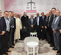 رئيس الفريق الاستقلالي بمجلس النواب يستقبل أعضاء الجمعية المغربية للمديرين العامين ومديري المصالح بالجماعات الترابية