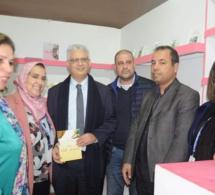 الأخ نزار بركة بالمعرض الدولي للكتاب لزيارة رواقي مؤسسة علال الفاسي ومنظمة المرأة الاستقلالية والإطلاع على جديد الإصدارات