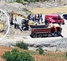 المواطنون بتارجيست يطالبون بفتح  تحقيق عاجل حول وفاة طفل  بمقلع رملي عشوائي