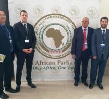 الأخ  طارق قديري عضو الفريق الاستقلالي بمجلس النواب  يشارك في مؤتمر إقليمي حول وضعية اللاجئين بجنوب إفريقيا