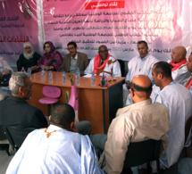 الجامعة الوطينة لموظفي وزارة الشباب والرياضة  تحط الرحال بمدينة العيون