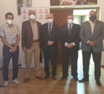 """الأخ نزار بركة الأمين العام لحزب الاستقلال يستقبل الجبهة الوطنية لإنقاذ المصفاة المغربية للبترول """"لاسامير"""""""