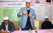 الأخ مولاي حمدي ولد الرشيد يترأس الجمع العام لهيئة المستشارين والغرف المهنية بإقليم طرفاية