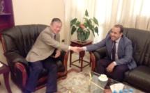 الأخ أحمد احميميد يزور السفير الصيني المعتمد بالمغرب