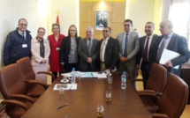 لقاءات مكثفة للأخ نورالدين مضيان مع  ممثلي مجموعة من القطاعات المهنية