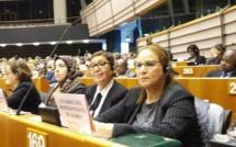 الأخت سعيدة آيت بوعلي تبصم على مشاركة متميزة خلال الأسبوع الإفريقي بالبرلمان الأوروبي