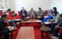أعضاء الحركة الوطنية للممرضينفي ضيافة الفريق الاستقلالي بمجلس النواب
