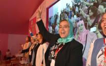الأخت خديجة الزومي رئيسة جديدة لمنظمة المرأة الاستقلالية