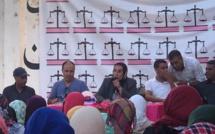 الأخت خديجة الزومي تتراس المؤتمر المحلي لحزب الاستقلال فرع سيدي سليمان