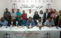 الأخ عبد اللطيف أبدوح يترأس المؤتمر المحلي لفرع حزب الاستقلال  بأسفي