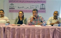 الأخ عبداللطيف أبدوح يترأس الجمع العام لفرع حزب الاستقلال  بمقاطعة سيدي يوسف بن علي